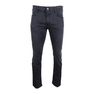 Hugo Boss Green Men's Delaware Jeans (Grey, 34x32) - Grey