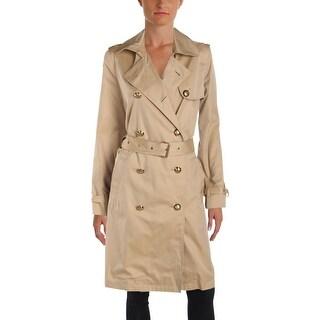 Lauren Ralph Lauren Womens Fatyela Trench Jacket Fall Coat