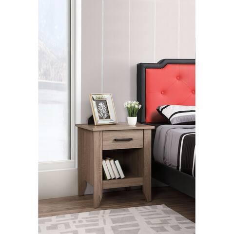 Lennox 3-drawer Wooden Nightstand