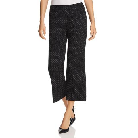 Kobi Halperin Black Women's Size 4 Stretch Cropped Dress Pants