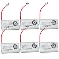 Replacement BT1007 (TL26602) Battery For Uniden DECT1363W / DECT1680-6C Phone Models (6 Pack)