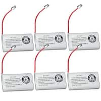 Replacement BT1007 (TL26602) Battery For Uniden DECT1660 / EZAI2997 Phone Models (6 Pack)