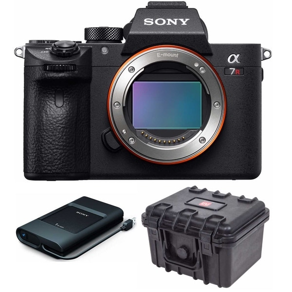Sony Alpha a7R III Full-Frame Mirrorless Camera (Body Only) with ...