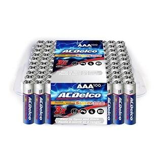 Acdelco Aaa Super Alkaline Batteries, 100-Count