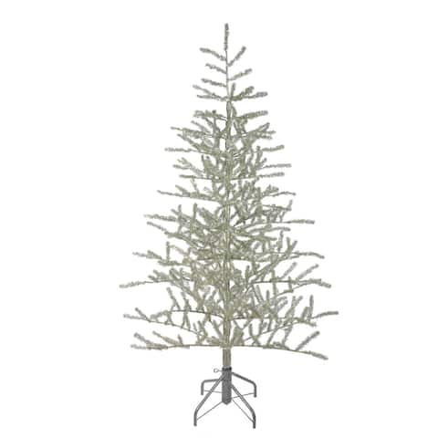 5' Champagne Tinsel Artificial Christmas Twig Tree - Unlit