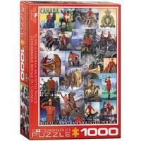 EuroGraphics RCMP Collage 1000-Piece Puzzle