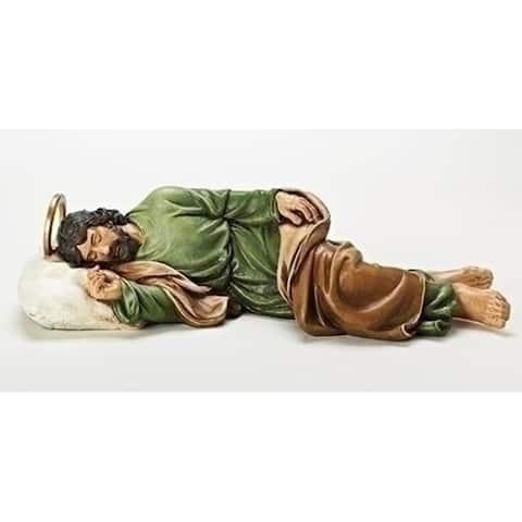 Josephs Studio 22.5 St. Joseph Sleeping Statue With Religious Story Card