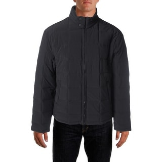Perry Ellis Mens Quilted Water Resistant Puffer Coat - XXL