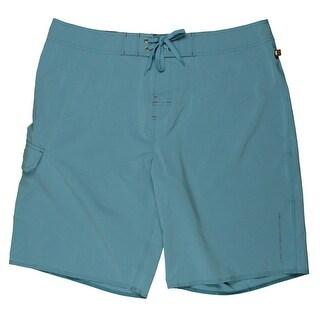 Kahala Mens Shoreline STRETCH Quick Dry Board Shorts - 38