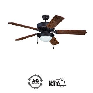 "Ellington Fans E209 Pro 52"" 5 Blade Indoor Ceiling Fan - Light Kit Included"