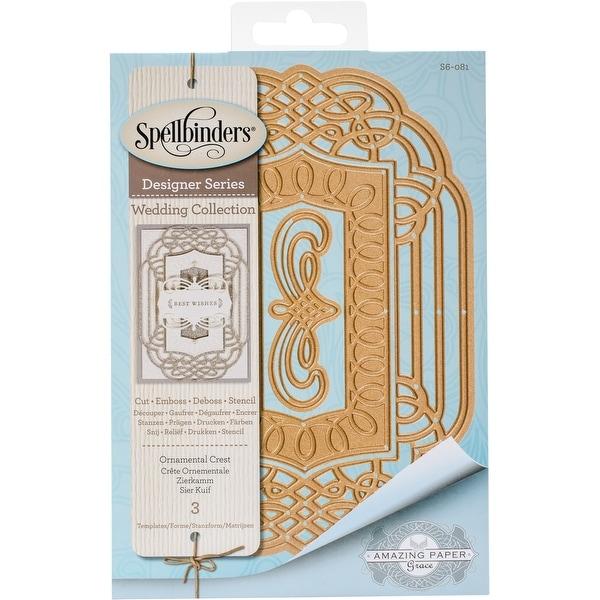 Spellbinders Nestabilities Dies-Ornamental Crest