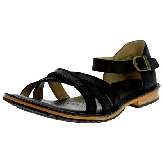 Bogs Outdoor Shoes Womens Nashville Leather Stacked Sandal