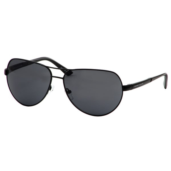 cd4dabaf5f8 Shop Perry Ellis Mens Metal Aviator Sunglasses Black PE73-2 ...