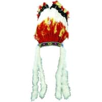 Native American Headdress Adult Costume Accessory - One Size