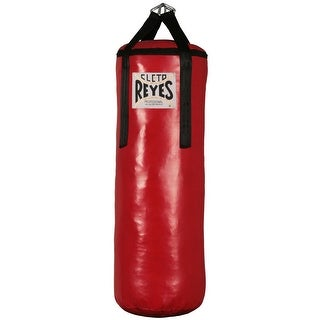 "Cleto Reyes Large 38x14"" Unfilled Nylon-Canvas Punching Heavy Bag"
