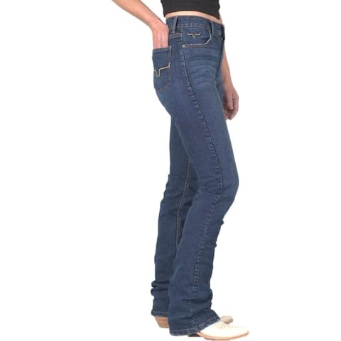 Kimes Ranch Western Jeans Womens High Rise Fitted Thigh