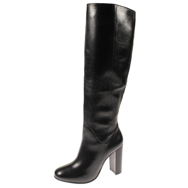 c0756c9c48a Steve Madden Womens Romani Over-The-Knee Boots Leather Covered - 8.5 medium  (