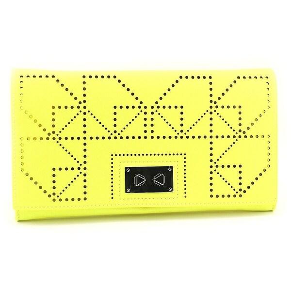 Danielle Nicole Wila Clutch Women PVC Clutch - Yellow