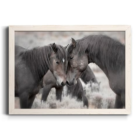 Wild Horses-Premium Framed Canvas - Ready to Hang