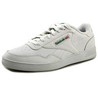 Reebok Club Memt   Round Toe Leather  Sneakers