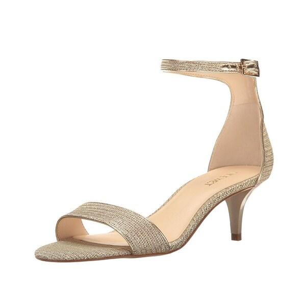 e842639f551 Shop Nine West Leisa Leather Two Piece Kitten Heeled Sandal - 10 b(m ...