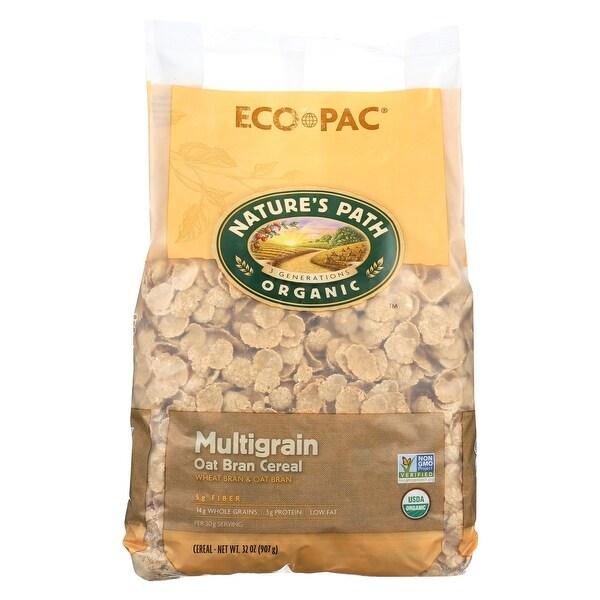Nature's Path Organic Multigrain Oat-bran Cereal - Case of 6 - 32 oz.