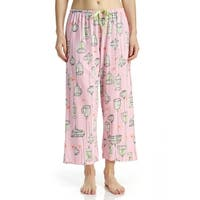 Hue Sleepwear Women's Freebird Capri Pajama Pants