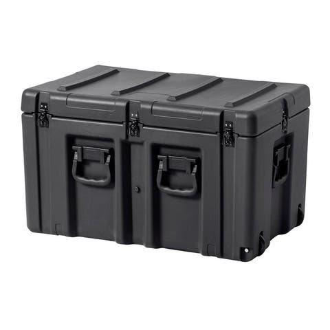 Monoprice Rotomodeled Weatherproof Case 30 x 18 x 18 inches W/ Foam and Wheels