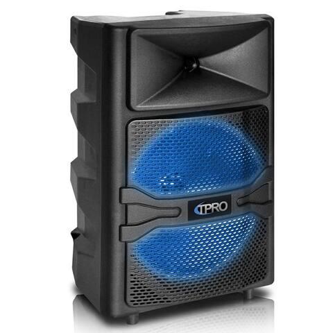 "Technical Pro PVOLT12 Bluetooth 12"" Active 1500 Watt Speaker USB / SD Player"