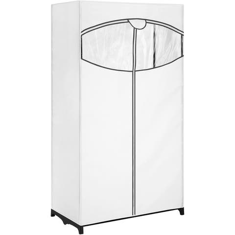 Whitmor 6822-150-b fabric clothes closet 36inch