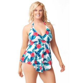 Sea & Sand Beachwear Handkerchief Swimdress Bathing Suit