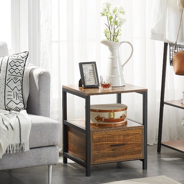 VECELO Square Side Tables /Sofa Tables/End Table/Nightstand. Opens flyout.