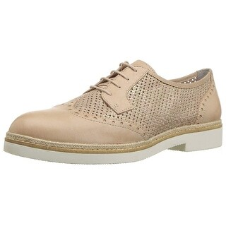 Tamaris Womens kela 23718 Leather Almond Toe Oxfords - 5.5