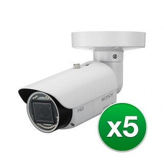Sony Network FHD Bullet Camera (5-Pack) Network FHD Bullet Camera