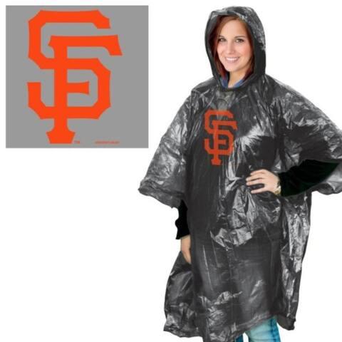 San Francisco Giants Rain Poncho