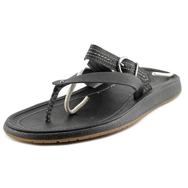 JBU by Jambu Destiny Women Open Toe Synthetic Black Thong Sandal