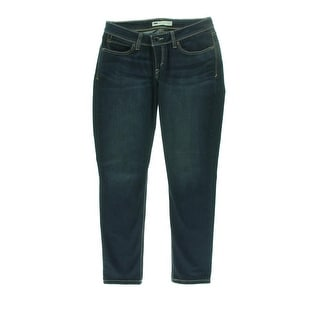 Levi's Womens Juniors Skinny Jeans Bold Curve Low-Rise - 1