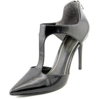 Enzo Angiolini Flea Women Open Toe Leather Black Sandals