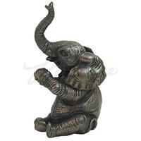 Unicorn Studios WU70215E1 Baby Elephant-Sitting & Applauding