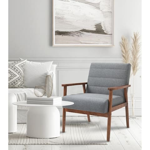 Horizontal Channel Tufted Armchair