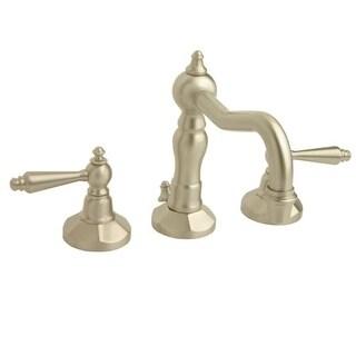 Giagni EL101 Esaro Widespread Bathroom Faucet - Includes Metal Pop-Up Drain Asse