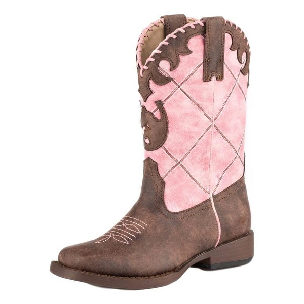 7b3824ebe96 Roper Western Boots Girls Lacy 9