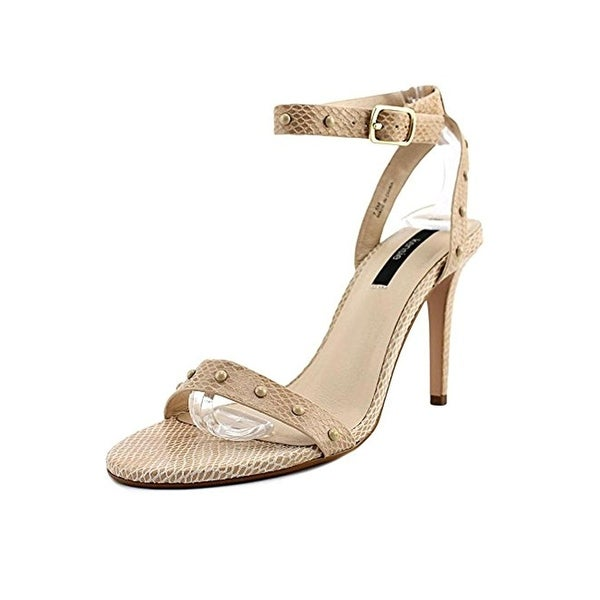 Kensie Womens Lexy Heels Open Toe Stiletto - 7.5 medium (b,m)