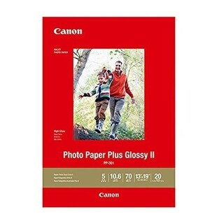 Canon USA 13 x 19 in. Glossy II PP-301 Photo Paper, 20 Sheets