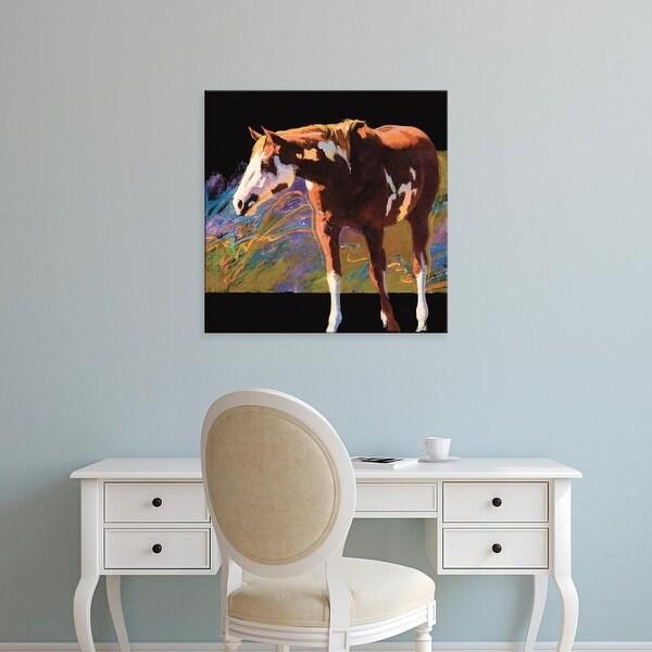 Easy Art Prints Julie T. Chapman's 'Color Square I' Premium Canvas Art