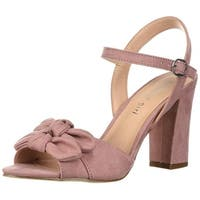 Madden Girl Women's Bows Heeled Sandal