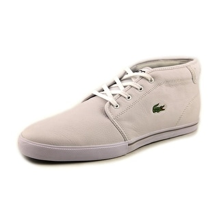 Lacoste Ampthill LCR SPM Round Toe Leather Sneakers