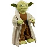 "Star Wars Talking Plush 26"" Life Size Yoda - multi"