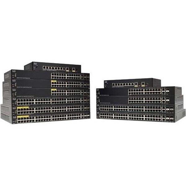 Cisco Systems Sg350-28Mp 28-Port Gigabit PoE Managed Switch (SG35028MPK9NA)