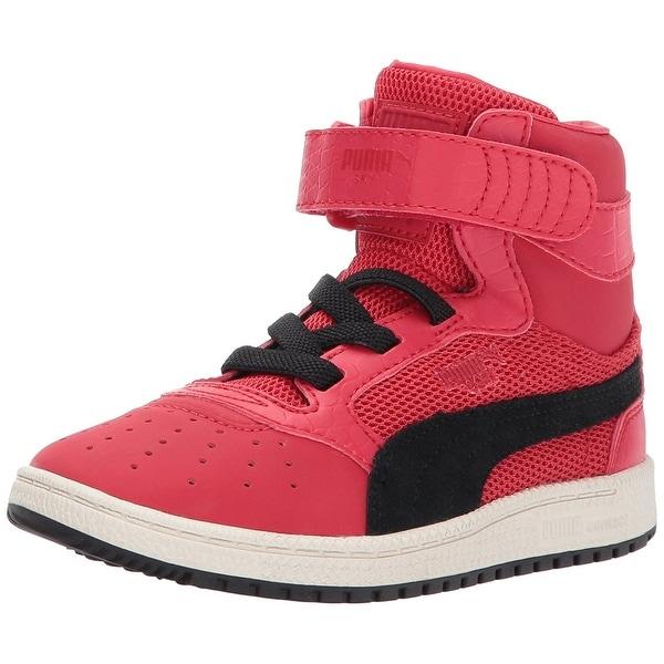 fed80912dbbc Shop PUMA Boys sky II Hi Leather Hight Top Lace Up Basketball Shoes ...